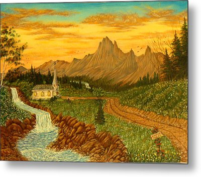 Road To Redemption Metal Print