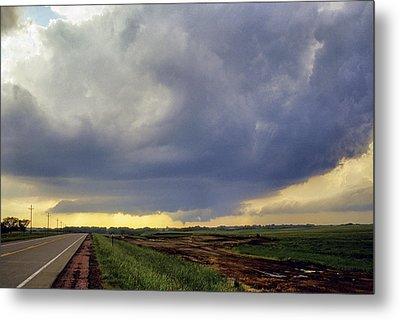 Road To The Tornado - Woonsocket South Dakota Metal Print by Jason Politte