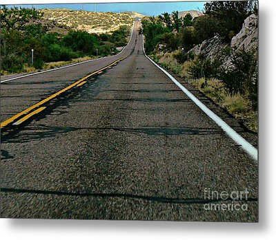 Metal Print featuring the photograph Road Trip by Lin Haring