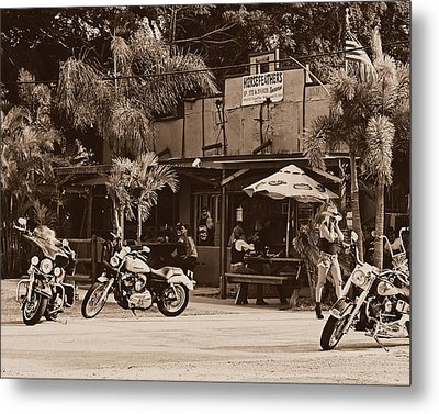 Roadhouse Metal Print by Laura Fasulo
