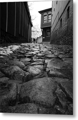 Roads Metal Print by Lucy D