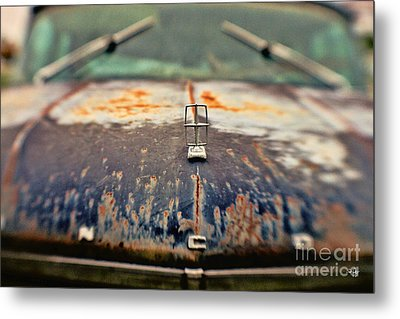 Roadside Relic Metal Print by Scott Pellegrin