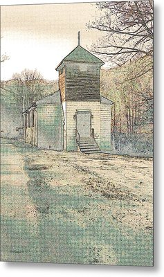 Roadside Metal Print by Steve Godleski