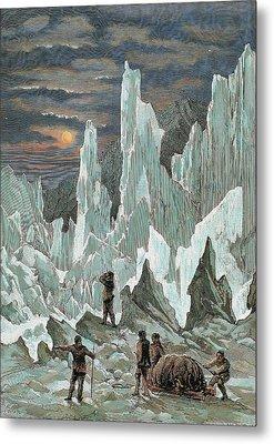 Roald Engebrecht Amundsen (borge, 1872 Metal Print by Prisma Archivo