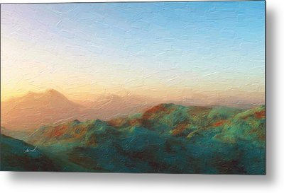 Roaming Hills And Valleys 2 Metal Print