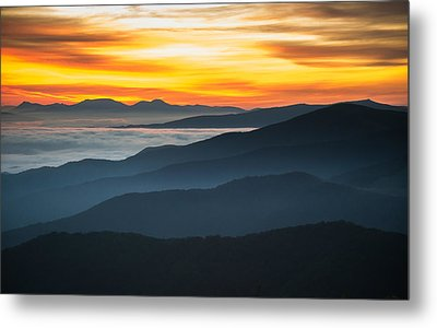 Roan Mountain Sunrise Metal Print by Serge Skiba