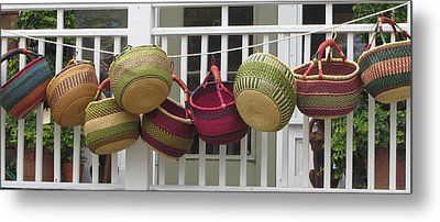 Metal Print featuring the photograph Roanoke Baskets by Cathy Lindsey