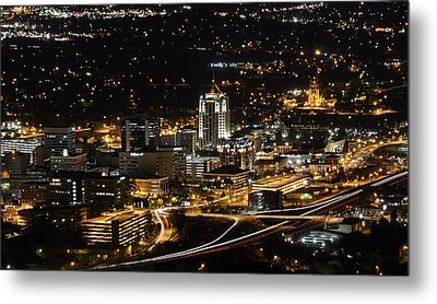 Roanoke Virginia Metal Print by Brendan Reals