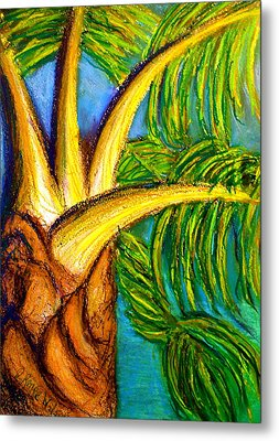 Metal Print featuring the drawing Roatan Revel by D Renee Wilson