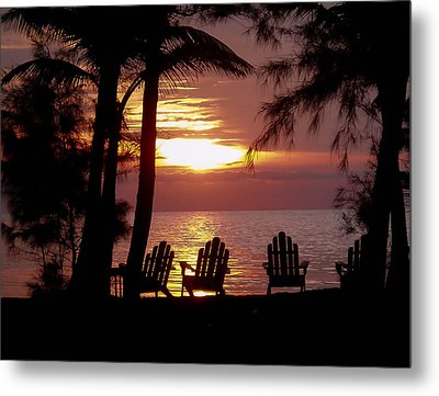 Roatan Sunrise Metal Print by Haren Images- Kriss Haren