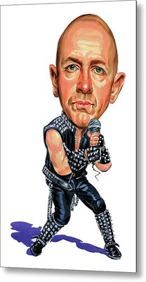 Rob Halford Metal Print by Art