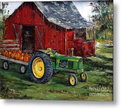 Rob Smith's Tractor Metal Print
