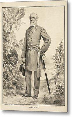 Robert E Lee Metal Print by Bill Cannon