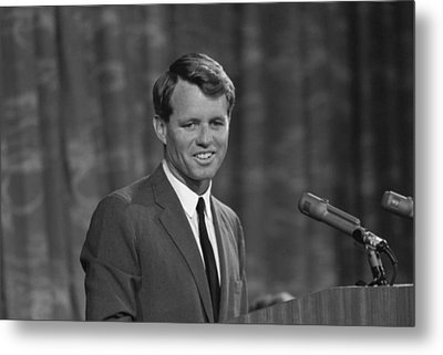Robert Kennedy Metal Print by War Is Hell Store