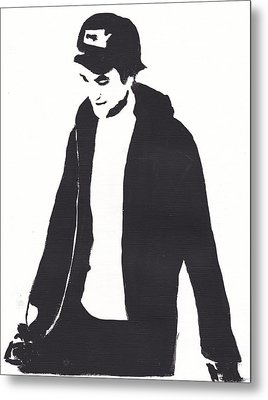 Robert Pattinson 111 Metal Print