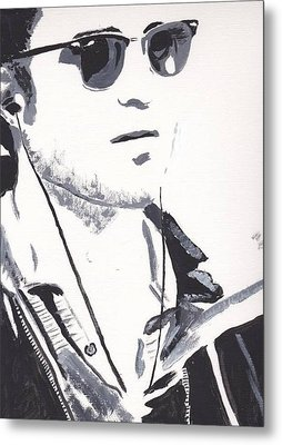 Robert Pattinson 151 Metal Print