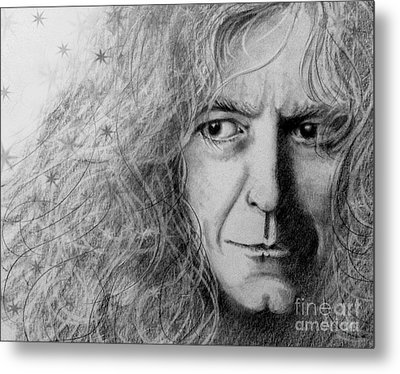 Robert Plant Metal Print by Patrice Torrillo