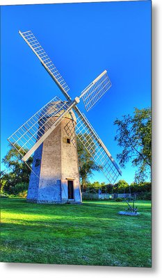 Robert Sherman Windmill Metal Print by Andrew Pacheco