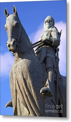 Robert The Bruce King Of Scots  Metal Print