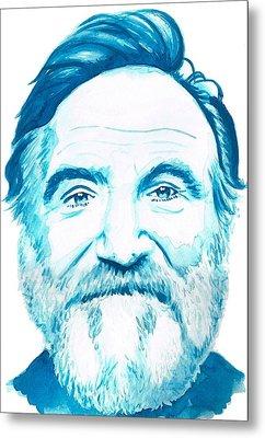 Robin Williams Metal Print by Kyle Willis
