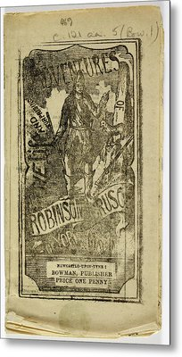 Robinson Crusoe Metal Print