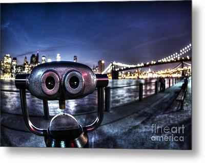 Robot Views Metal Print by Andrew Paranavitana