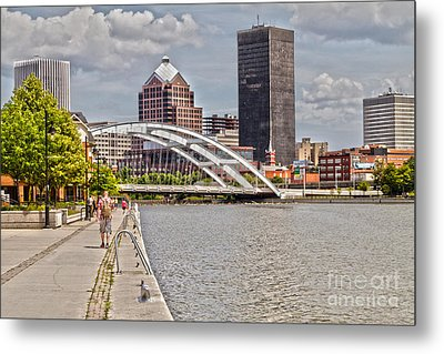 Rochester By The River Metal Print