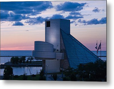 Rock And Roll Hall Of Fame Metal Print by Dale Kincaid
