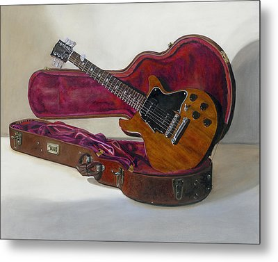 Metal Print featuring the painting Rock Candy by Gail Chandler
