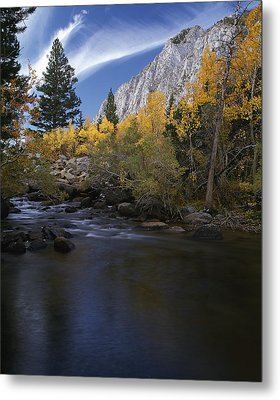 Rock Creek Canyon Gold Metal Print