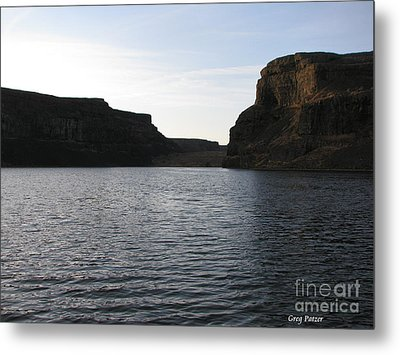 Rock Garden Metal Print by Greg Patzer