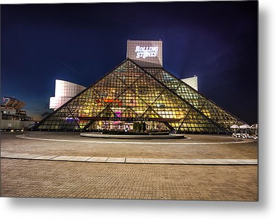 Rock Hall Metal Print by Brent Durken