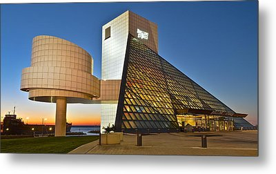 Rock Hall Stones Tribute Metal Print by Frozen in Time Fine Art Photography