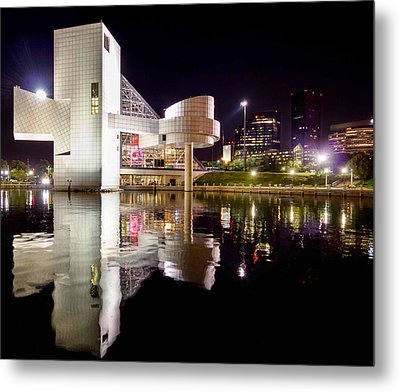 Rock In Retro Metal Print by Brent Durken