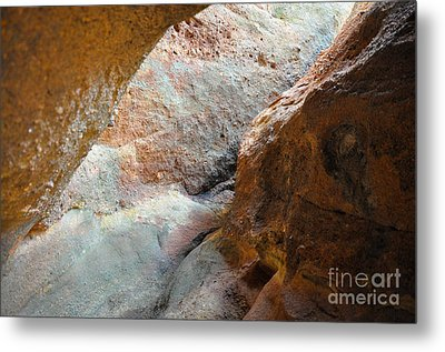 Rock Light Metal Print