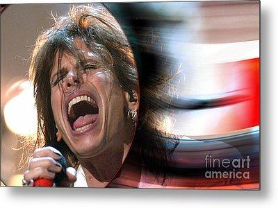 Rock N Roll Steven Tyler Metal Print by Marvin Blaine