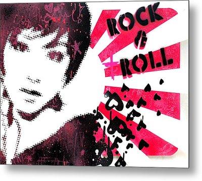 Rock N Troll Metal Print by Vanessa Baladad