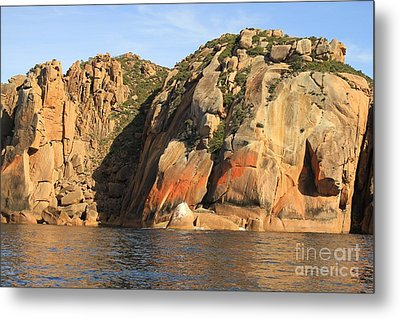 Rock Of Ages All Profits Go To Hospice Of The Calumet Area Metal Print