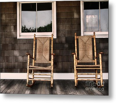 Rock On Metal Print by Colleen Kammerer