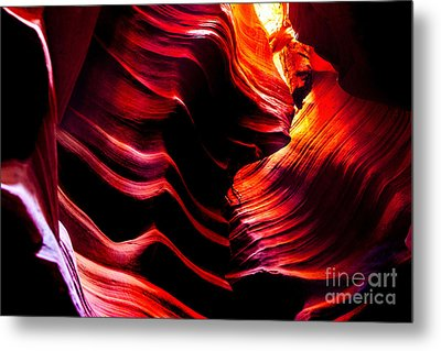 Belly Of The Beast Metal Print by Az Jackson