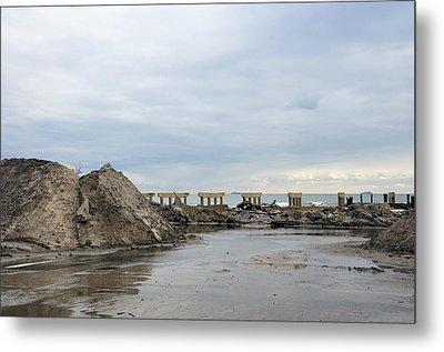 Rockaway Beach After Hurricane Sandy 4 Metal Print