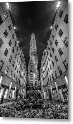 Rockefeller Center - New York 1 Metal Print