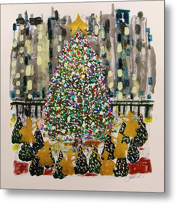 Rockefeller Center Metal Print by John Williams