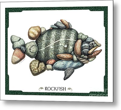 Rockfish Metal Print