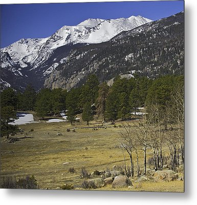 Rockies Metal Print by Tom Wilbert