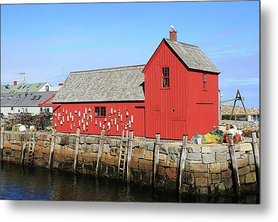 Rockport Motif Number 1 Metal Print by Lou Ford