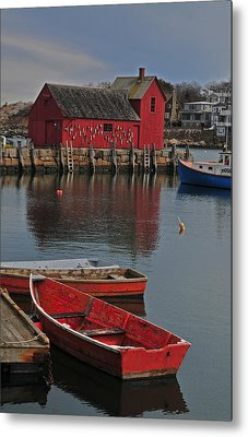 Rockport No. 1 Metal Print by Mike Martin