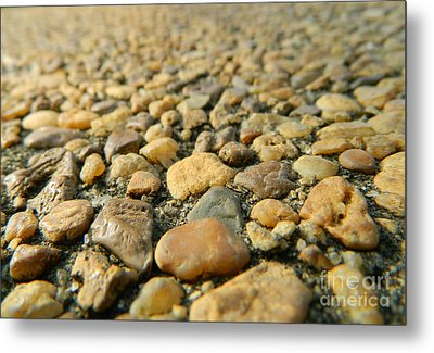 Rocks On My Path Metal Print by Andrea Anderegg