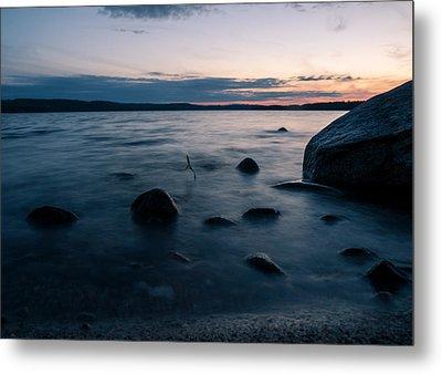 Rocks At A Shore Metal Print by Janne Mankinen