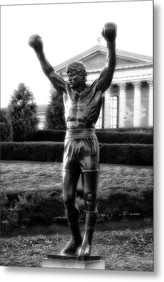 Rocky Balboa Metal Print by Bill Cannon